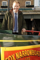 adam henson visits fox narrow boats