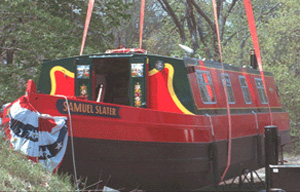samuel slater narrow boat commission