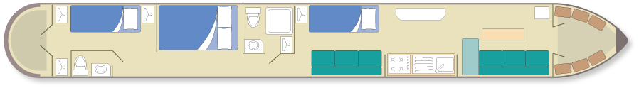 narrowboat plan 5-7 berth