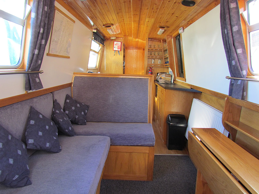 5-7 Berth 5 Luxury Hire Boat For Narrowboat