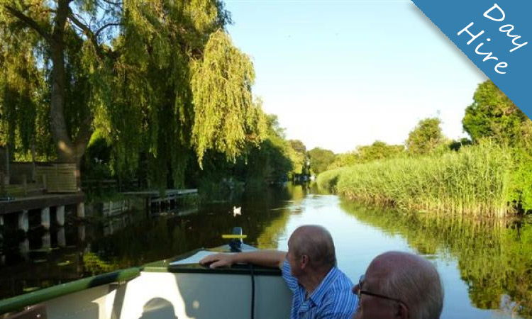 day boat hire stunning waterways and open countryside
