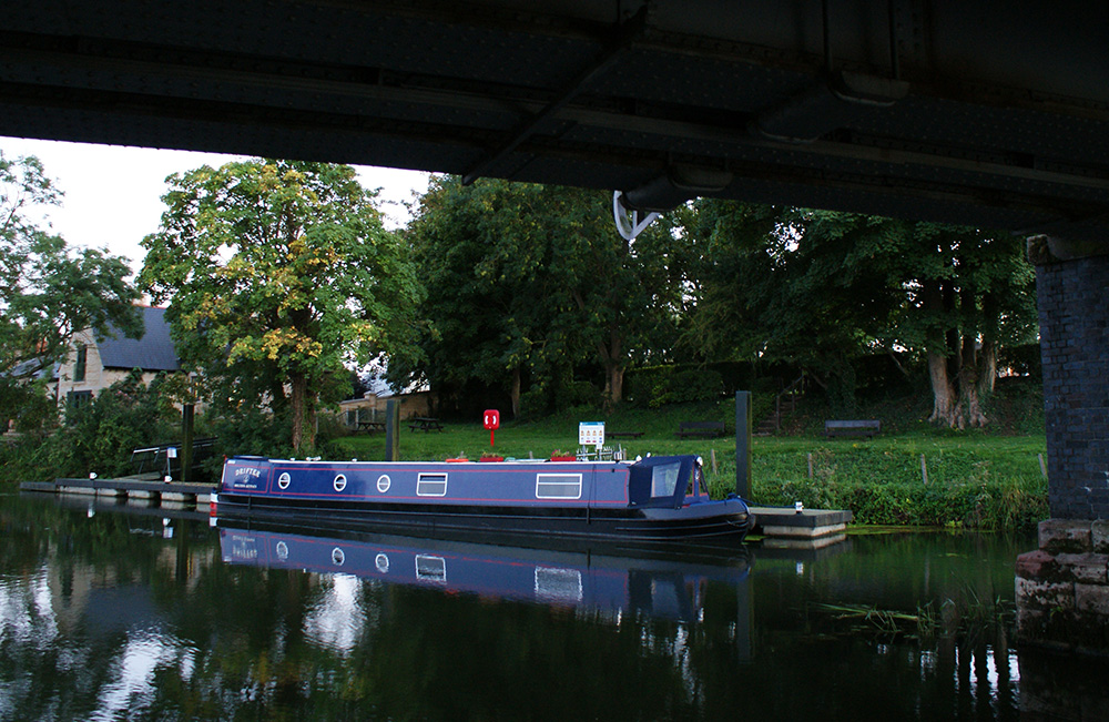 Wansford Station EA Boat Moorings jan pickles
