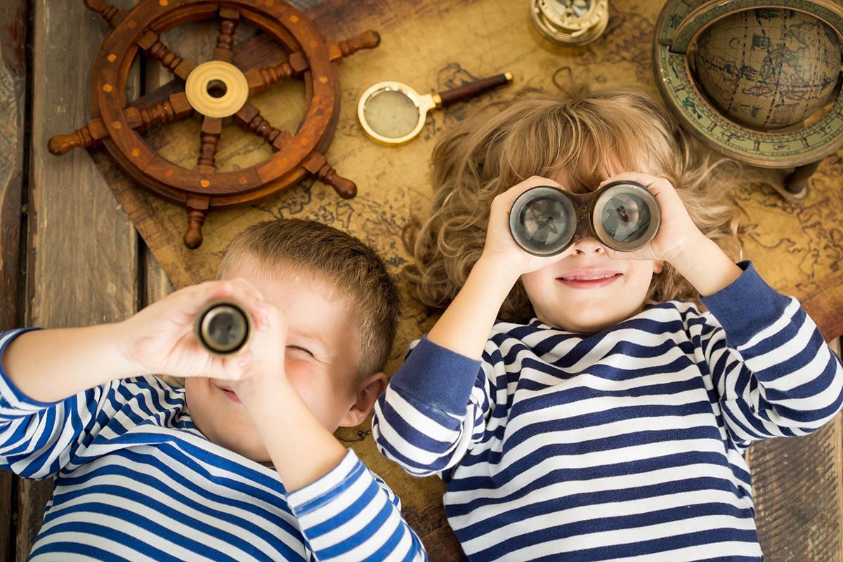 licenced - narrowboating kids children
