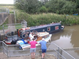 at Salters Lode - ready to set off