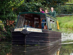 adventurer day boat hire