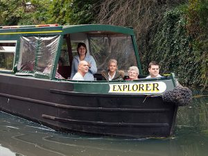 explorer day hire boat