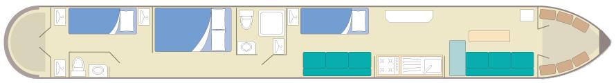 silver narrowboat-plan-5-7