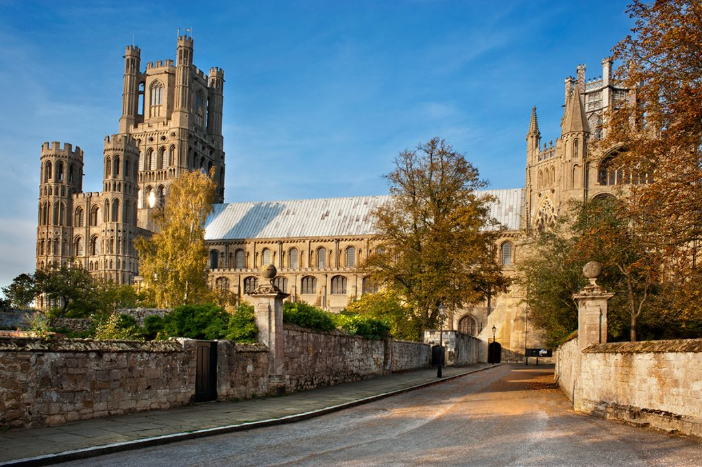 ely cathedral used for film set