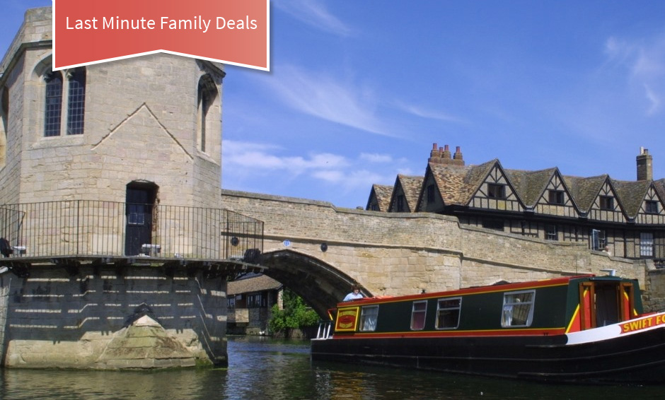 last minute family deals narrowboat