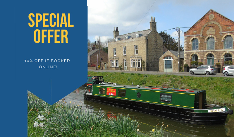 narrowboat hire online discount