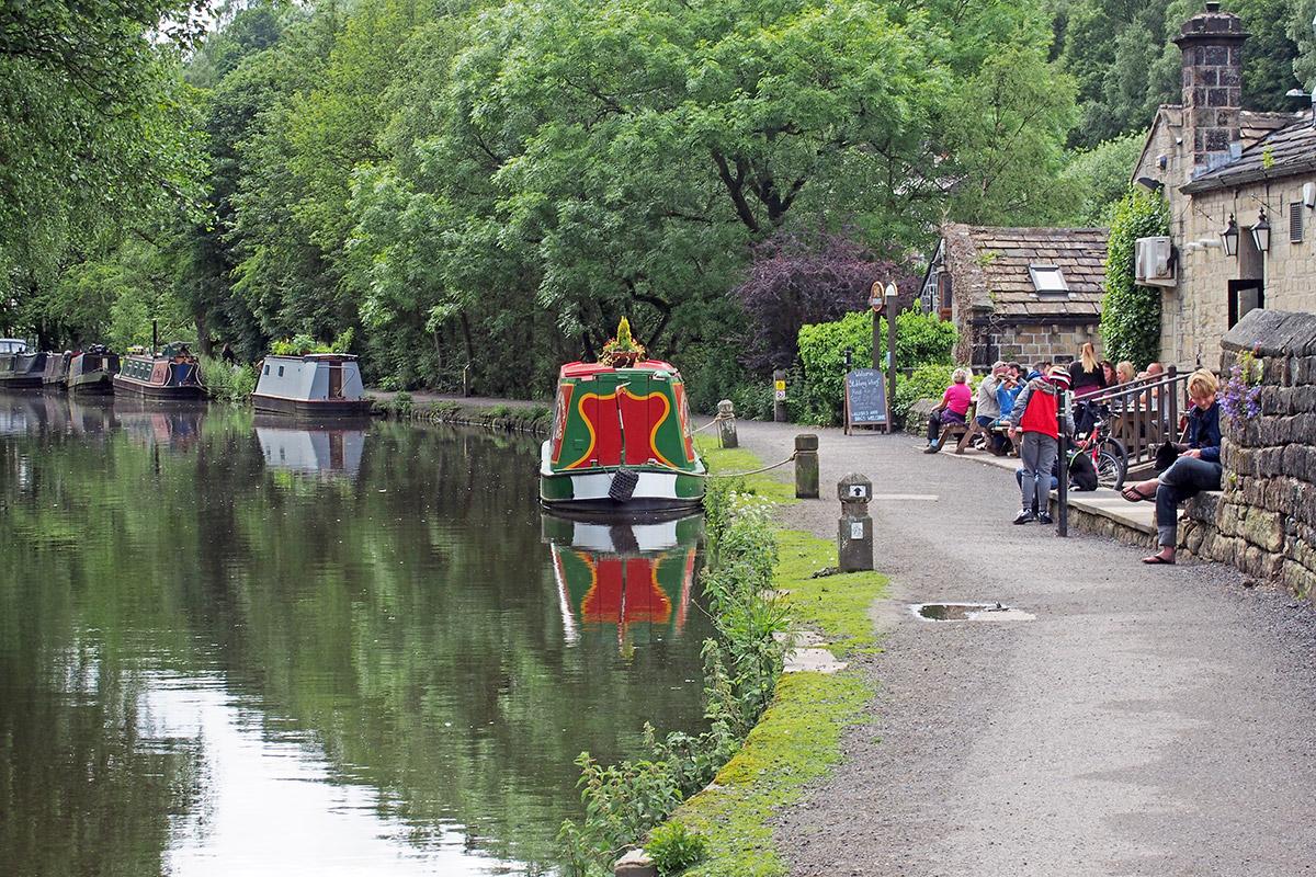 hebden bridge yorkshire canal licenced